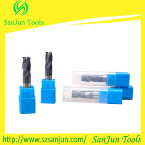 Tungsten Solid Carbide Corner Radius End Mill with Coatin pictures & photos