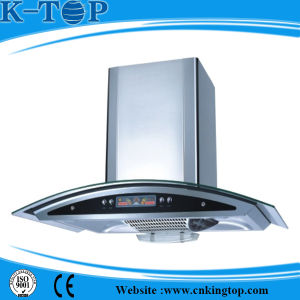 Glass Panel Copper Wire Cooker Hood