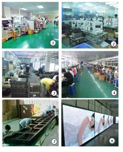 High Resolution Full Color Indoor LED Display Panel pictures & photos