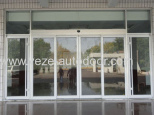 Automatic Proximity Sensor Door for Office Buildings pictures & photos