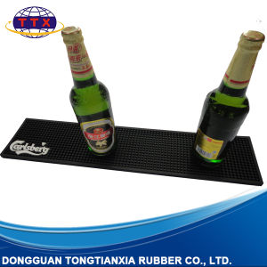 Customized Promotion Soft PVC Rubber Bar Mat pictures & photos