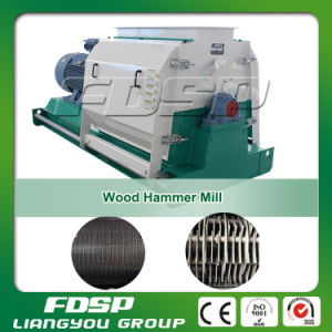 4-5 T/H Hammer Mill Wood Chip Crusher Machine (MFSP668*1000) pictures & photos