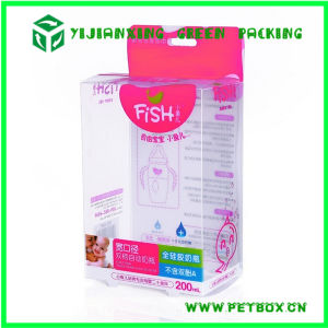 Plastic Pet Transparent Printing Packaging Box for Feeding Bottle