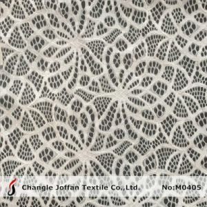 Ripple Pattern Elastic Swimwear Lace Fabric (M0405) pictures & photos
