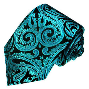 New Fashion Paisely Design Woven Silk Neckties pictures & photos