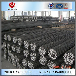 Tensile Low Carbon Hot Rolled Steel Rebar, Deformed Steel Bar pictures & photos