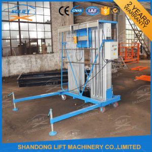 Hydraulic Vertical Aluminium Folding Indoor Ladder / Lift for Hotel Maintenance pictures & photos