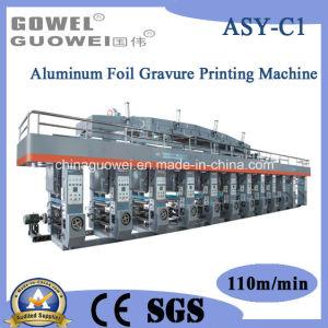 Aluminum Foil Computer Control Color Rotogravure Printing Machine (paper, gluing machine) pictures & photos