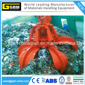 Scrap Rubbish Hydraulic Orange Peel Grab Bucket pictures & photos