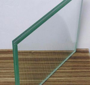 Colored Laminated Tempered Patterned Glass (JINBO) pictures & photos