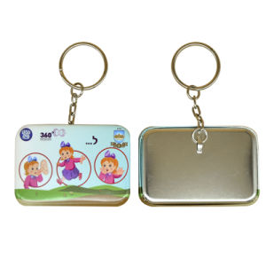 Key Ring Metal with Customized Picture Keyring pictures & photos