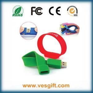 Silicone Bracelet USB Pen Drive Memory Stick, Flash Drive pictures & photos