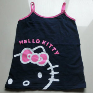 Kids Girls Tank Top Pattern of Printing Tank Top Pattern