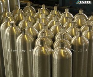 Factory Empty Aluminum Cylinder Pressure pictures & photos