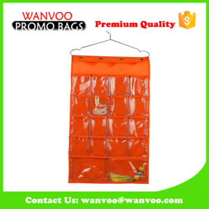 600d Nylon Fabric Hanging Walll Organizer for Jewelry Display pictures & photos