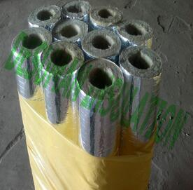 Best Price-Rock Wool Insulation Aluminum Foil Cladding Rock Wool Pipe pictures & photos