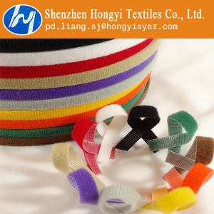 Multicolor Fastener Hook & Loop Cable Wire Tie Roll pictures & photos