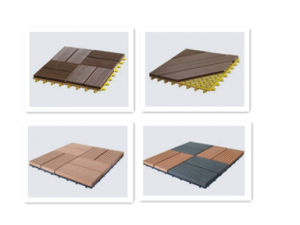 Waterproof WPC Decking High Quality 140X38mm Solid Wood Plastic Composite Flooring pictures & photos