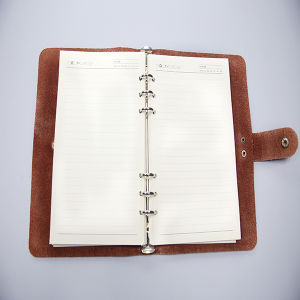 Leather Notebook Printing with Printing Factory pictures & photos