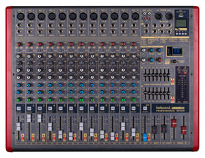 High Quality 12 Channel Professional Audio Mixer Plx 12 pictures & photos