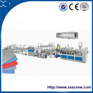 Ce PC Hollow Sheet Extruder Production Line pictures & photos