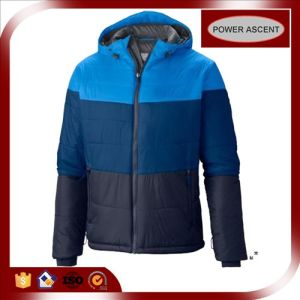 2015 Mens New Fashion Gradient Winter Nylon Down Jacket pictures & photos