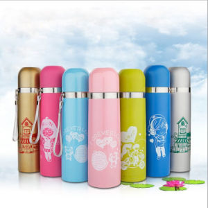 500ml Cheap Stainless Steel Vacuum Flask Bullet Type (DC-HL8-500) pictures & photos