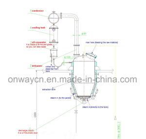TQ High Efficient Energy Saving Essential Oil Steam Distillation Equipment pictures & photos