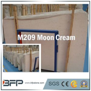 M209 Moon Cream Marble Slab Stone Slabs for Interior Design pictures & photos