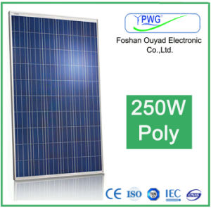 Poly PV Solar Panel 250W for Home AC Products pictures & photos
