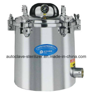 Electric or LPG Heated 12liters Small Portable Autoclaves for Sale pictures & photos