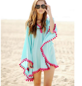 Fast Delivery Hot Sale Fashion Loose Plus Size Beach Wrap (50156) pictures & photos