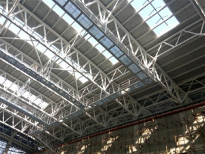 Low Cost Exhibition Hall Building Structral Design Steel Space Truss Structure pictures & photos