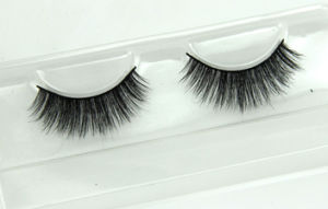 Soft Natural Hair Handmade False Eyelashes Mfe2001 pictures & photos