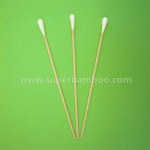 6′ Bamboo Stick Cotton Swab for Medical/Industry Use (B251507)