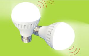 4W/7W Radar Induction and Light Controlled LED Bulb, LED Lighting pictures & photos