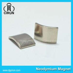 Super Powerful Sintered Arc Shape Neodymium Motor Magnet pictures & photos