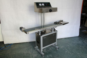 Continuous Plastic Cover Induction Sealing Machine for Aluminum Foil pictures & photos