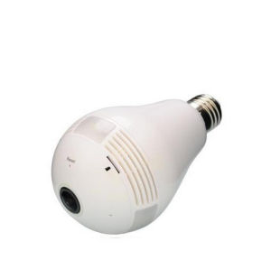 Wireless WiFi Smart Bulb 360 Degree Full HD IP Camera with Two-Way Audio and 128g Recording Feature Mini Digital Video Camera pictures & photos