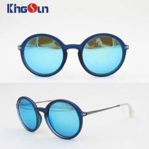 Fashion Lady′s Plastic Sunglasses with Round Shape Ks1145 pictures & photos