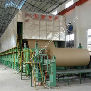 Waste Paper Treatment for Kraft Paper Making Machine 2100mm 20-25tpd pictures & photos