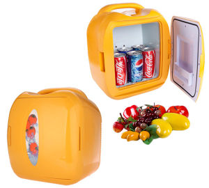 Electronic Mini Fridge 8 Liter DC12V, AC100-240V in Both Cooling and Warming for Car, Home, Office Use pictures & photos