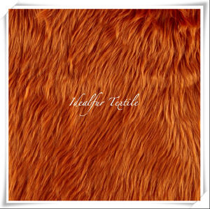 Shag Long Hair Faux Fur /Solid Color pictures & photos