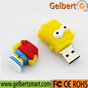 Custom Cartoon 4GB PVC USB Flash Stick for Promotion Gift pictures & photos
