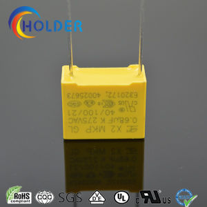 New Box Metallized Polypropylene Film Capacitor (X2 0.68UF/275V D4) pictures & photos
