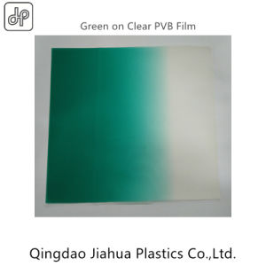 0.76mm Automotive Use Green-on-Clear PVB Interlayer pictures & photos