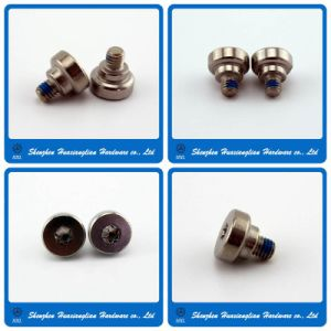 Stainless Turned Special Machine Step Screw with Nylok Patch pictures & photos