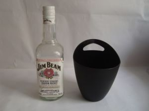1L Plastic Ice Bucket with Stand for Bar pictures & photos