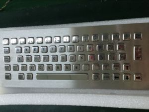 IP65 Stainless Steel Metal Keyboard-Kiosk Component (KMY299B-1) pictures & photos
