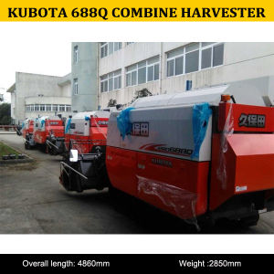 2015 Hot Sale High Quality of Kubota PRO688q Small Combine Harvester, PRO688q Combine Harvester pictures & photos